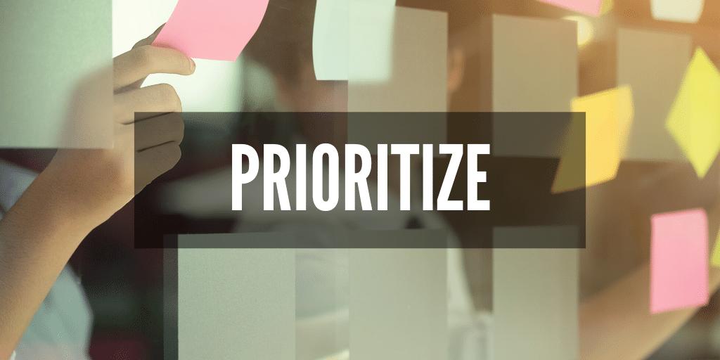 Configuration issue resolution prioritization